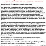 Lektion 41: Valentin von Terni